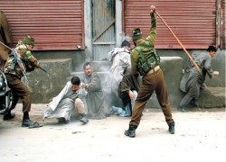 'OCCUPIED KASHMIR BEING TURNED INTO INDIAN COLONY AS WORLD WATCHES'