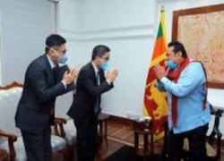 CHINA SEEKS TO ELEVATE BILATERAL RELATIONS WITH SRI LANKA TO A HIGHER LEVEL
