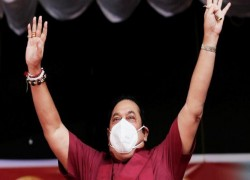 Rajapaksas soar in victory while the global superpowers await
