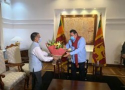 INDIA REITERATES DESIRE TO WORK VERY CLOSELY WITH SRI LANKA