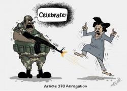 Meet Kashmiri cartoonist taking a dig at Indian rule