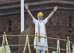 ON 15 AUGUST, MODI WILL BECOME INDIA'S LONGEST-SERVING NON-CONGRESS PRIME MINISTER