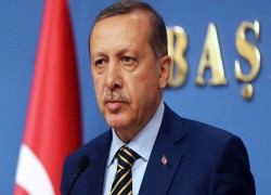 ERDOGAN SAYS TURKEY COULD SUSPEND DIPLOMATIC TIES WITH UAE