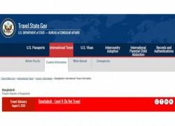DO NOT TRAVEL TO BANGLADESH DUE TO COVID-19: US TRAVEL ADVISORY