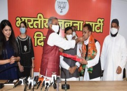 SHAHEEN BAGH ACTIVIST SHAHZAD ALI JOINS BJP, SAYS PARTY NOT ENEMY OF MUSLIMS