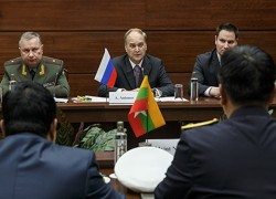 Russian deputy defense minister, Myanmar chief of General Staff discuss cooperation