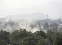 MORTAR SHELLS STRIKE KABUL AS AFGHANS MARK INDEPENDENCE DAY