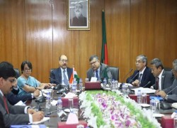 BANGLADESH TO DISCUSS OXFORD UNIVERSITY'S COVID-19 VACCINE TRIAL WITH INDIA