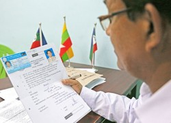 5 Muslim candidates rejected from Myanmar's election