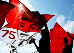 Indonesia's 75th anniversary highlights rise of political Islam
