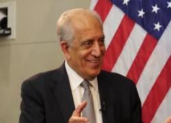 'NO LEGITIMATE REASON' TO DELAY TALKS, SAYS KHALILZAD
