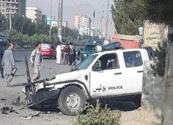IED BLASTS IN KABUL LEAVE ONE DEAD, FOUR WOUNDED