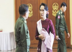 Myanmar's latest peace talks expose Suu Kyi rift with military