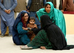 THREE KILLED, 41 WOUNDED IN TALIBAN TRUCK BOMB IN AFGHANISTAN