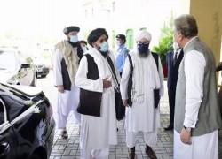QURESHI 'HOPEFUL' AFTER TALIBAN MEETING, AFGHAN GOVT CRITICAL