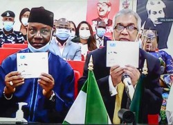 NIGERIA RELEASES POSTAL STAMP COMMEMORATING BANGLADESH'S FOUNDING FATHER BANGABANDHU