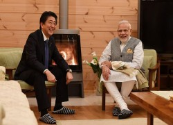 'I WISH AND PRAY FOR YOUR SPEEDY RECOVERY': PM MODI'S MESSAGE FOR SHINZO ABE