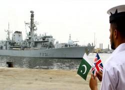 পাকিস্তান ও ব্রিটিশ নৌবাহিনীর যৌথ মহড়া অনুষ্ঠিত