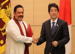 MAHINDA PRAYS FOR SHINZO ABE'S GOOD HEALTH
