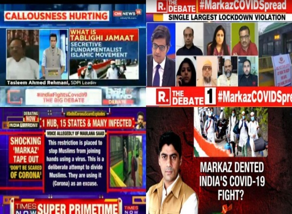 Indian TV channels in vanguard of movement to demonize Muslims