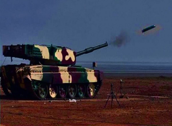 India tests laser guided anti-tank missile