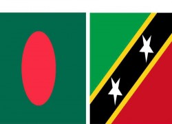 BANGLADESH ESTABLISHES DIPLOMATIC TIES WITH SAINT KITTS AND NEVIS