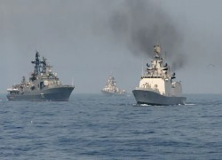 India, Russia deploy warships for 'no contact' drills near strategic Malacca Strait