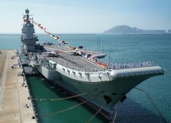China's first homemade carrier Shandong sets out for exercises