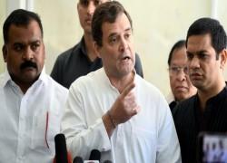 GDP SLUMP, HIGH COVID CASELOAD, BORDER AGGRESSION ARE 'MODI-MADE' DISASTERS, SAYS RAHUL GANDHI