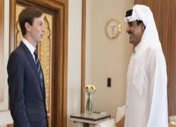 Two-state solution needed for Palestine, Qatar emir tells Kushner