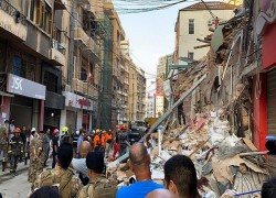 'Signs of life' under Beirut rubble one month after explosion