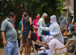 INDIA OVERTAKES BRAZIL FOR SECOND-MOST COVID CASES WITH MORE THAN 90,000 NEW INFECTIONS