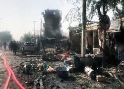 VP SALEH SURVIVES KABUL BLAST, AT LEAST 10 KILLED