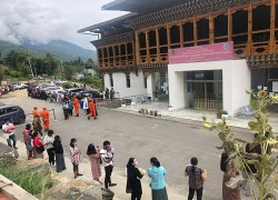 Bhutan has one of the highest per capita testing rates globally