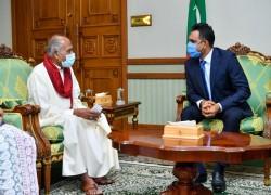 Maldives, Sri Lanka discuss on further enhancing bilateral relations