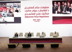 Talks between Afghan government and Taliban open in Qatar