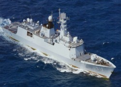 China dispatches first of four advanced warships built for Pakistan