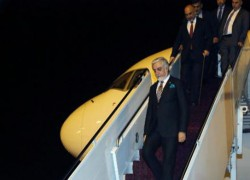 ABDULLAH RETURNS FROM QATAR AFTER TALKS' OPENING