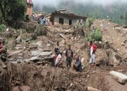 LANDSLIDES IN NEPAL KILL 12 PEOPLE, AT LEAST 21 MISSING