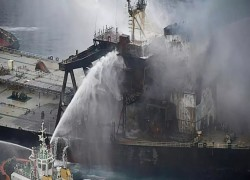 Stricken tanker's captain to face charges in Sri Lanka