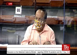 COVID VACCINE WILL BE AVAILABLE BY BEGINNING OF NEXT YEAR: HARSH VARDHAN