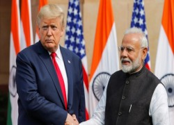 'GREAT LEADER AND LOYAL FRIEND':US PRESIDENT TRUMP EXTENDS BIRTHDAY WISHES TO NARENDRAMODI