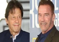 Hollywood superstar Arnold Schwarzenegger calls PM Imran a 'climate action hero'