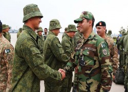 Pakistan takes part in Russian drills ceremony