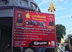 Myanmar political party withdraws election broadcast after censorship by authorities