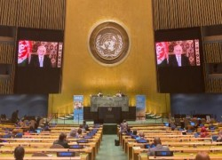 GHANI IN UN SPEECH REITERATES CALL FOR CEASEFIRE
