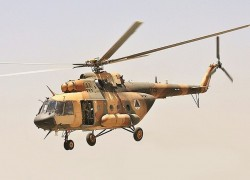 Afghan Military to stick to Russian-made Helocraft