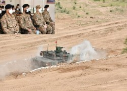 Pakistan Army shows off new Chinese tank for 'offensive role'