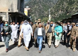 Diplomats visit Line of Control to assess situation