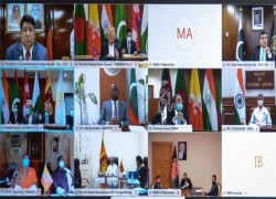 SAARC FMS FOR JOINT EFFORTS TO OVERCOME COVID-19 IMPACTS